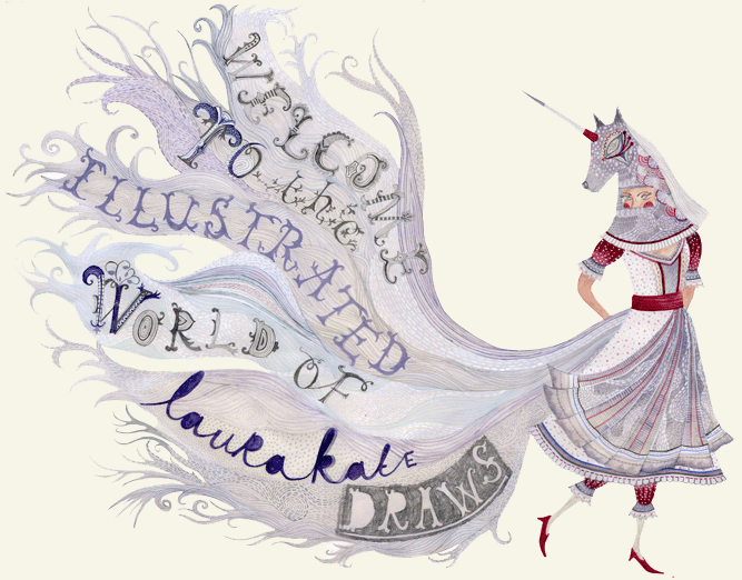 Welcome to the illustrated world of Laura-Kate